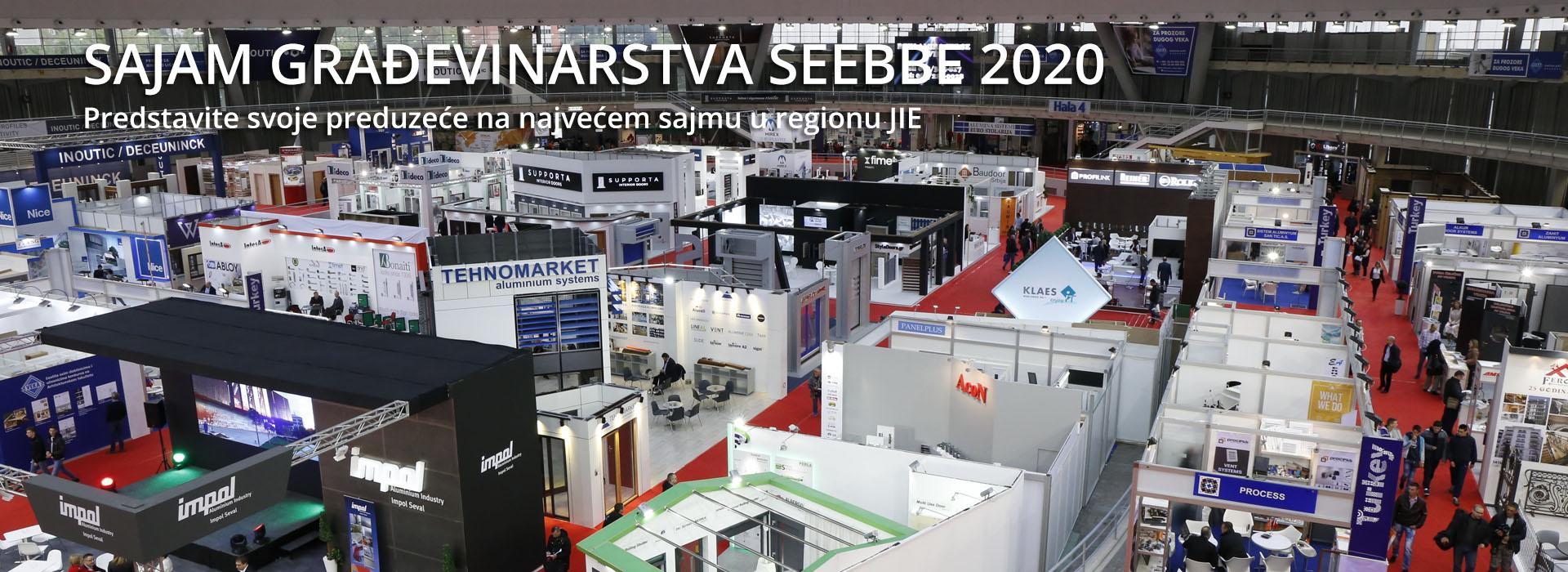 SAJAM GRAĐEVINARSTVA SEEBBE 2020
